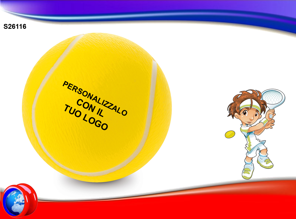 Pallina da Tennis Antistress